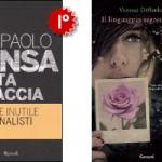 La classifica dei libri più venduti dal 9 al 15 Maggio