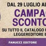Sconto del 25% della Fanucci Editore